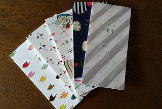 Subikiawa 一筆箋 (チドリ、コトリ、しまうま、りぼん、スワン)