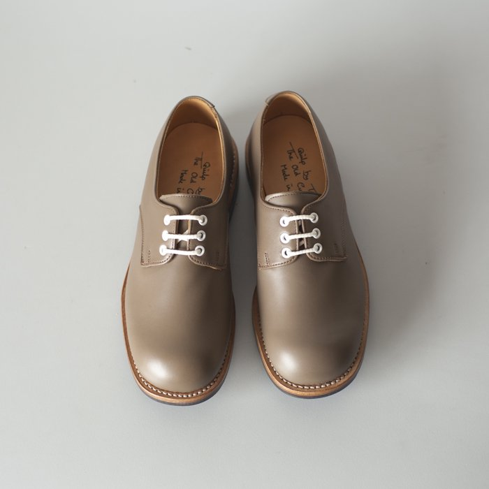 Quilp Shoes / M7351 Plain Derby Shoe / Visone Calf