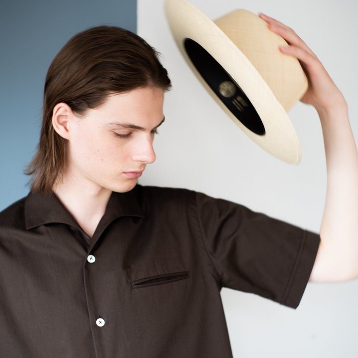QUILP / Rollable Panama Hat / Natural