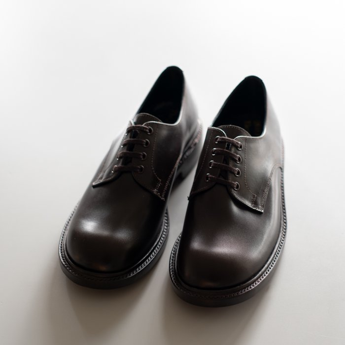 Quilp Shoes / 4 Tie Plain Shoe / ANNONAY D.BROWN