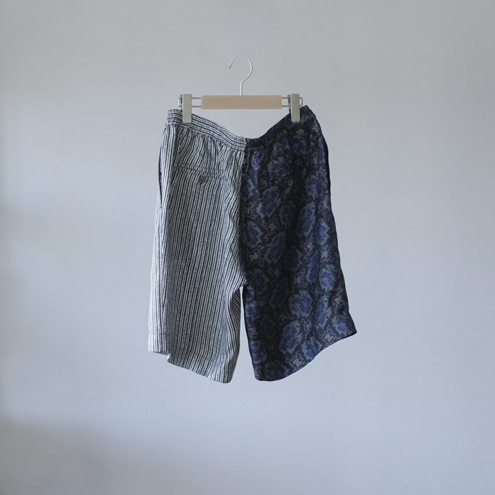 BANANATIME / RELAXED SHORT / PAISLEY FISH BLACK MIX