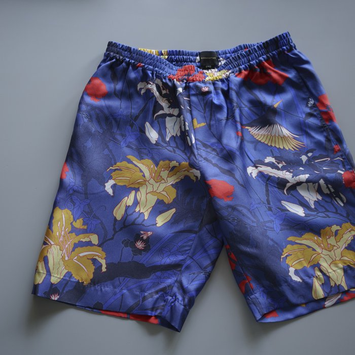 BANANATIME / RELAXED SHORT / JUNGLETIME BLUE