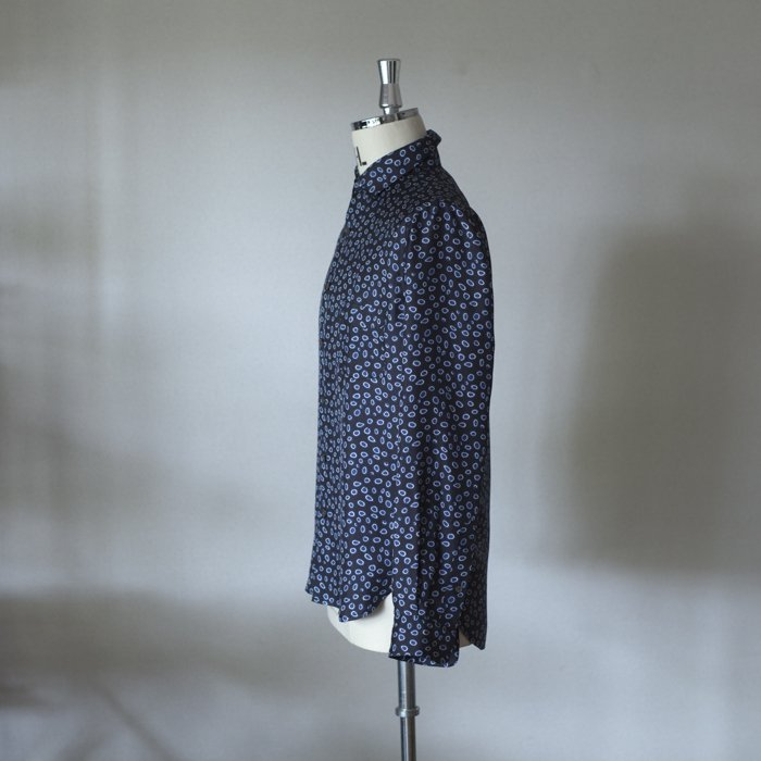 BANANATIME / COLLAR POCKET SHIRT / WATERDOTS