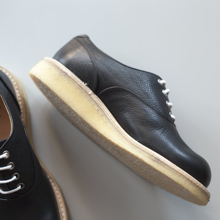 M7674 Plain Oxford / Black Olivvia Scotch Grain / UK6.5, UK7.0, UK7.5 in stock