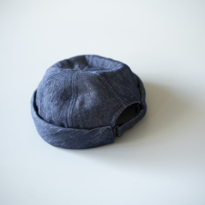 QUILP x LOCK&Co. Hatters / CAMPBELL / Linen INDIGO