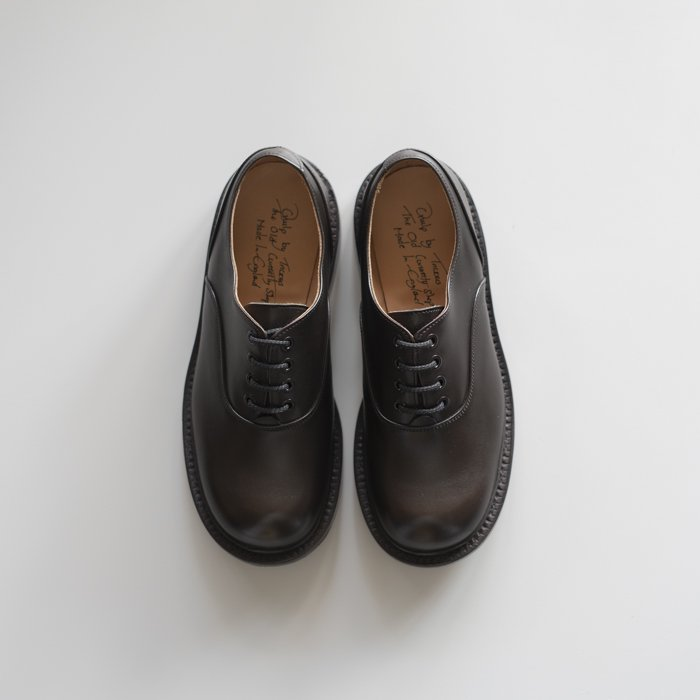 Quilp Shoes / M7674 Plain Oxford / CAFFE Burnished