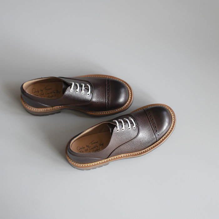 M7401 Oxford Shoe / ESPRESSO Scotch Grain / UK7.0 in stock
