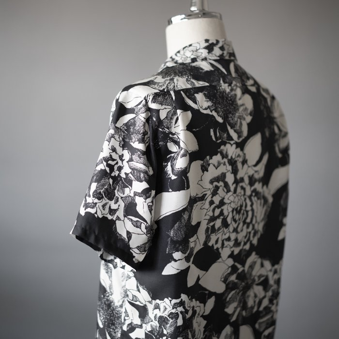 BANANATIME / HAWAIIAN SHIRT / YOUTH BLOOM BLACK