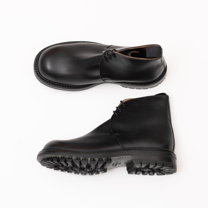 M7526 George Boot / MC BLACK / UK7.0 in stock