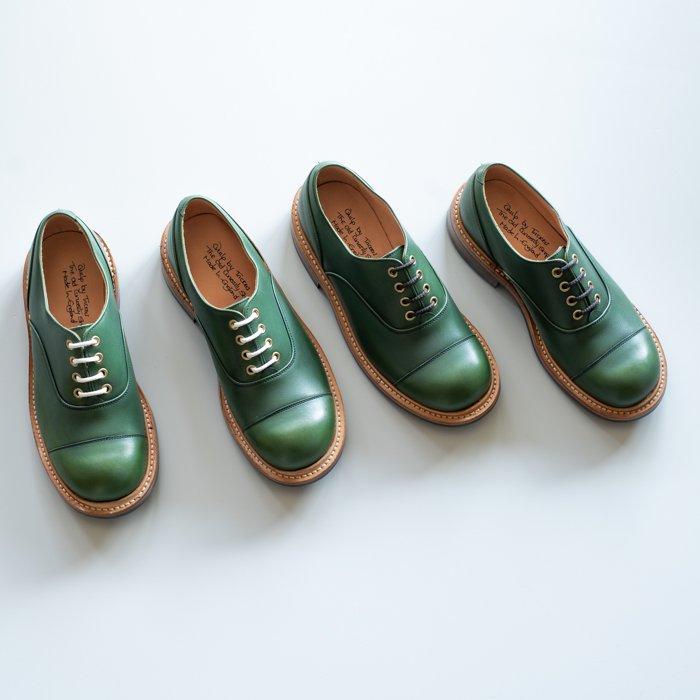 M8238 Plain Oxford Shoe / MC GREEN / UK5.0, UK6.0, UK6.5, UK7.0, UK9.0 in stock