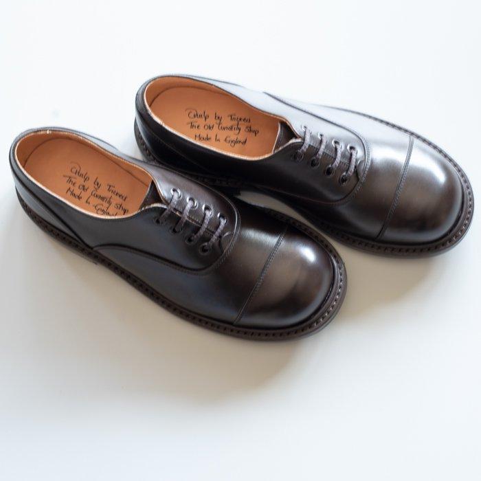 M8238 Plain Oxford Shoe / CAFE  Burnished / UK5.0, UK5.5, UK6.0, UK6.5, UK7.0, UK9.5 in stock