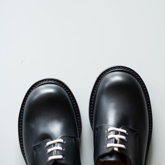 M7351 Plain Derby Shoe / MC BLACK / UK5.0, UK6.0, UK6.5, UK7.0, UK9.0 in stock