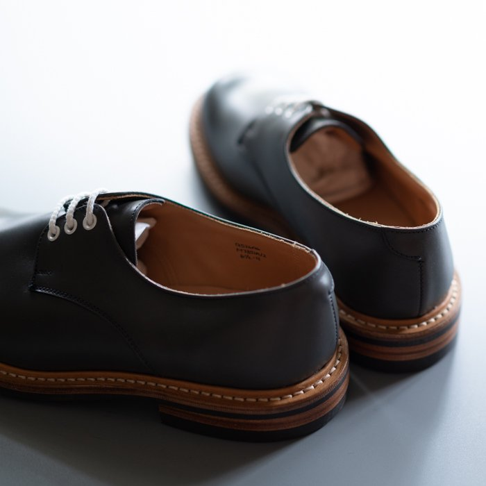 M7351 Plain Derby Shoe / DARK GREY Calf / UK5.0, UK6.0, UK6.5, UK7.0, UK8.5, UK9.0 in stock