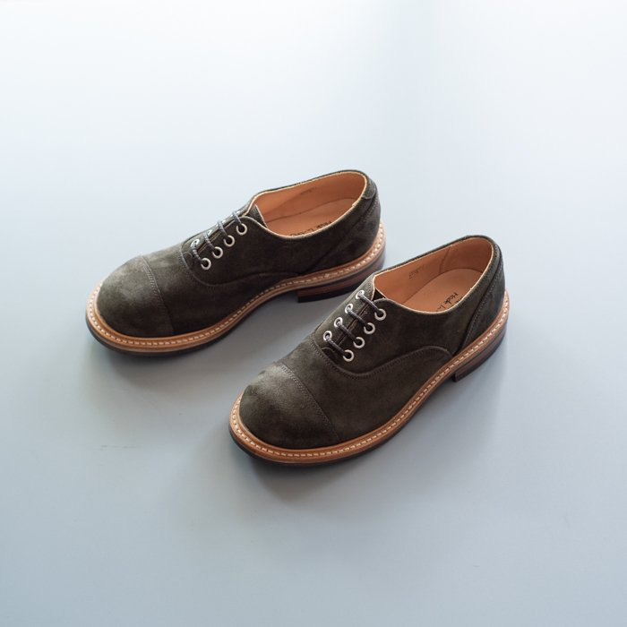 M8238 Plain Oxford Shoe / EARTH Repello Suede / UK5.0, UK6.5, UK7.0, UK8.5, UK9.0 in stock