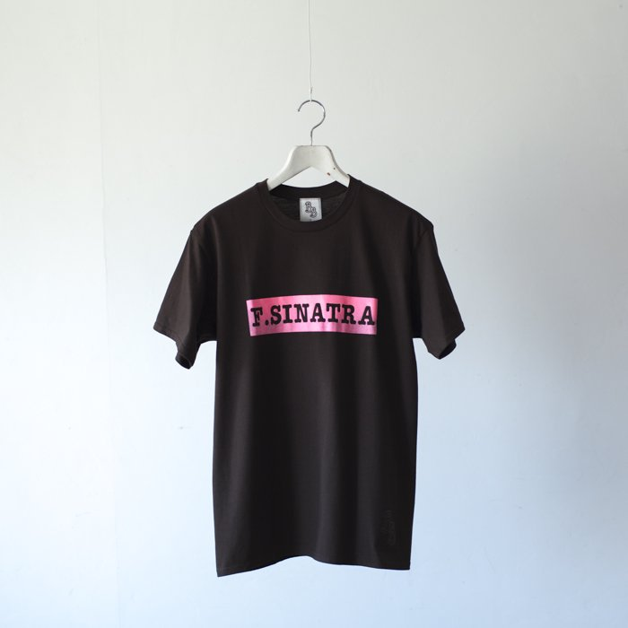 bitter Brown / Puff Printed Tee / F.SINATRA Tee / BROWN