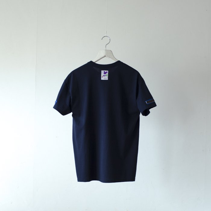 bitter Brown / 64 Tee / NAVY