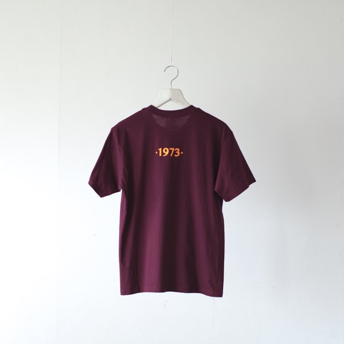 bitter Brown / Puff Printed Tee / I Shot The Sheriff / WINE