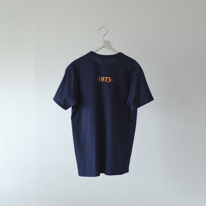 bitter Brown / Puff Printed Tee / I Shot The Sheriff / NAVY