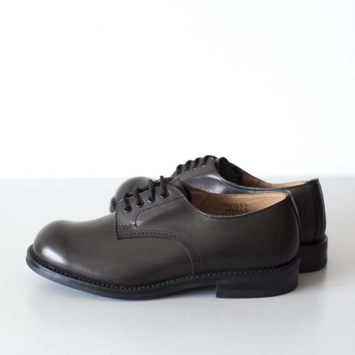 Quilp Shoes / M7525 Tramping Shoe / Espresso Burnished, D.Brown
