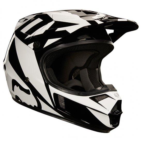 FOX V1 ユース レース ヘルメット ブラック