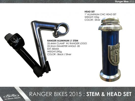 <img class='new_mark_img1' src='https://img.shop-pro.jp/img/new/icons25.gif' style='border:none;display:inline;margin:0px;padding:0px;width:auto;' />RANGER BIKES L1 STEM
