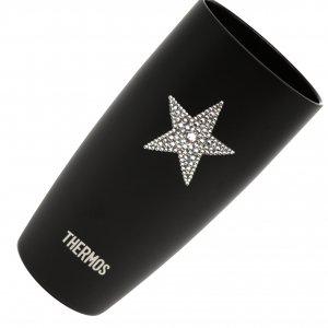 【サーモス 真空断熱タンブラー  スター】高級ギフトボックス付き 誕生日プレゼント ギフト スワロフスキー デコグラス