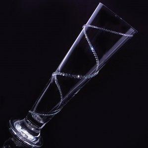 【ピルスナー 螺旋】 高級ギフトボックス付き 結婚祝い 誕生日 プレゼント ギフト スワロフスキー デコグラス