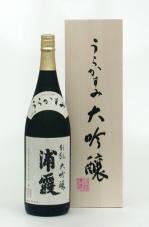 浦霞 大吟醸 別誂 1800ml 2018BY醸造酒 2019年11月蔵元出荷酒