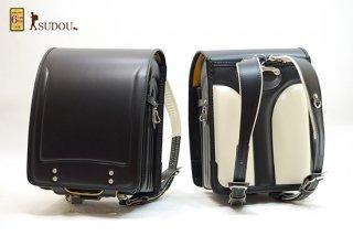 牛革ランドセル NO.6000L(ツヤなし黒)
