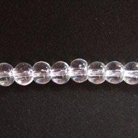 ガラス丸玉/4mm/Clear/40個入/アクセサリーパーツ/ビーズ