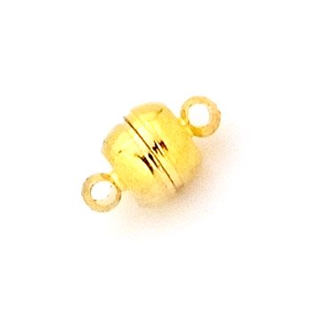 マグネットクラスプ/04/ゴールド/1個入/アクセサリーパーツ/基礎金具