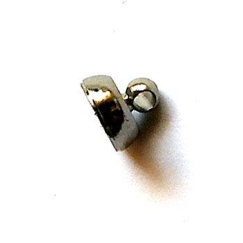 マグネットクラスプ/04/ブラック/1個入/アクセサリーパーツ/基礎金具