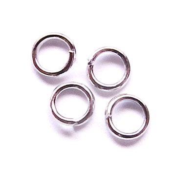 丸カン/0.7×5mm/アンティークシルバー/10g/アクセサリーパーツ/基礎金具