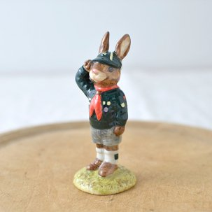 ROYAL DOULTON /ロイヤルドルトンバニキン<br> BE PREPARED BUNNYKINS DB56