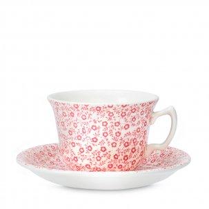 Burleigh Pink Felicity ピンクフェリシティ<br>カップソーサー