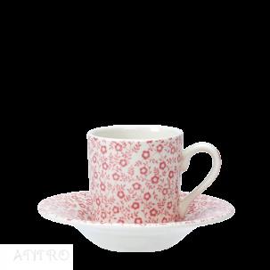 Burleigh Pink Felicity ピンクフェリシティ<br>エスプレッソカップ&ソーサー