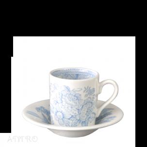 Burleigh Blue Asiatic Pheasant<br>ブルーアジアティックフェザンツ<br>エスプレッソカップ&ソーサー