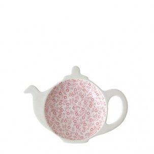 Burleigh Pink Felicity ピンクフェリシティ<br>ティーポットトレイ ギフトBOX付き