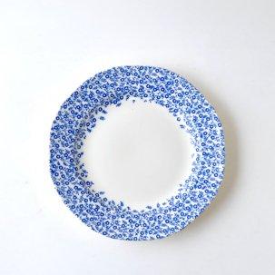 【少数入荷】Dark Blue Felicity ダークブルーフェリシティ<br>プレート小 19cm