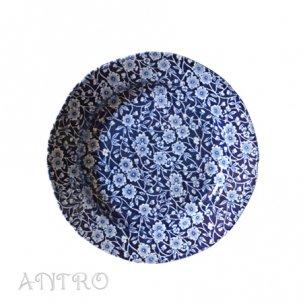 Burleigh Blue Calicoブルーキャリコ<br>プレートM 21.5cm