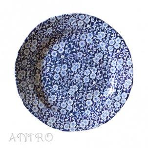 Burleigh Blue Calicoブルーキャリコ<br>プレートL 26.5cm