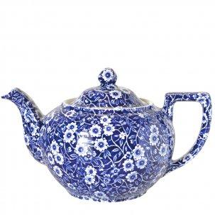 Burleigh Blue Calicoブルーキャリコ<br>ティーポットL