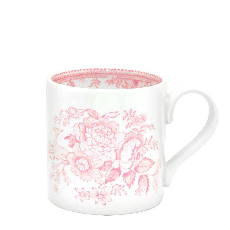 Burleigh Pink Asiatic Pheasant<br> ピンクアジアティックフェザンツ<br>マグカップ