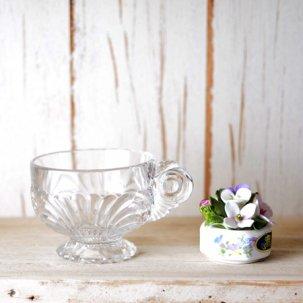 ビンテージ ティーカップ<br>Cambridge社 CAPRICE ケンブリッジガラス社 カプリスパターン
