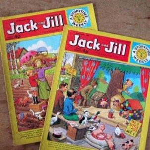70年代マガジン book<br>Jack and Jill 2冊セット