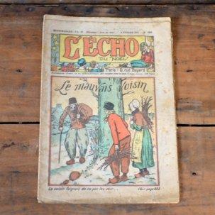 ビンテージ フレンチマガジン<br>「LECHO」1931年 2月号