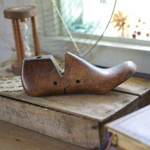 靴型・木靴 子供の足のシューモールド 20.5cm