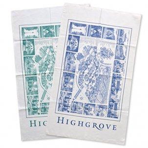 【HIGHGROVE】オーガニックコットンティータオル