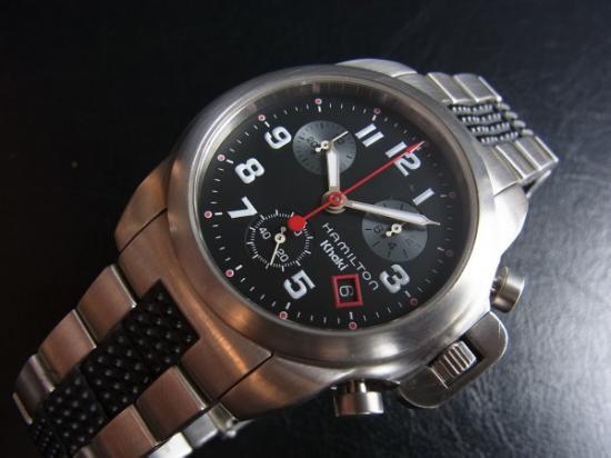 new style ae910 e5032 HAMILTON ハミルトン カーキ クロノグラフ - 腕時計 通販 虎ノ助 ...