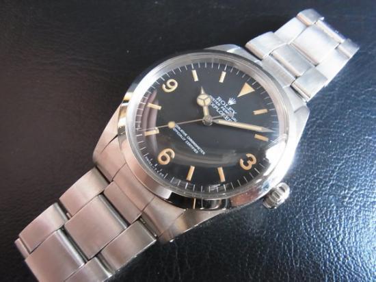 hot sale online ea55c 07fbb ROLEX EX-1 1016 エクスプローラー1 72年製 - 腕時計 通販 虎ノ ...